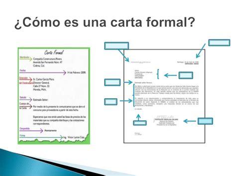 carta formal qe es la carta formal