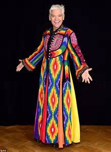 joseph and his coat of many colors phillip schofield prepares to sing joseph again for new