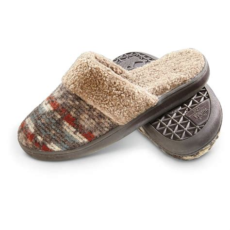 womens woolrich slippers woolrich s kettle creek slippers java blanket