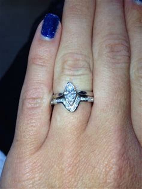stunning wedding rings wedding bands for marquise