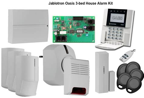 house alarms wireless burglar alarms wireless home security systems jablotron oasis alarm