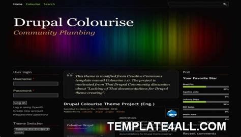 theme drupal commons free website templates themes and cms templates february 2011