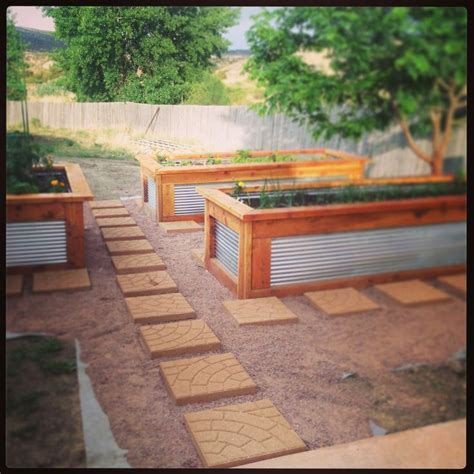 galvanized raised garden bed best 25 cedar raised garden beds ideas on pinterest