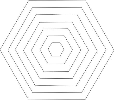 Timeless Treasure Trunk Hexagon Template