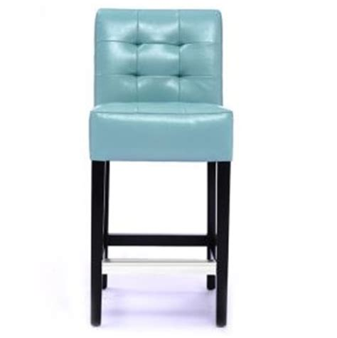Light Blue Leather Bar Stools by Blue Barstools Leather Barstool Barstools With Back