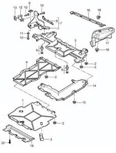 buy porsche boxster 986 987 981 undertrays chassis engine design 911