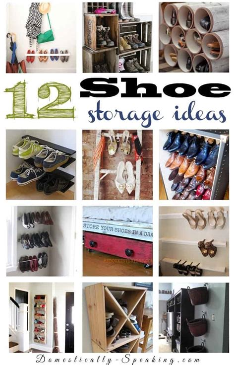 shoe organization 12 shoe organization ideas domestically speaking