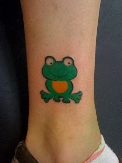 cute small frog tattoos hop around with our frog tattoos ibytemedia