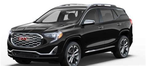 gmc terrain 2018 black 2018 gmc terrain price design specs interior exterior