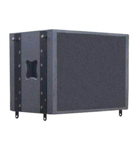 Speaker Cabinet Texture Paint by 18 Quot Line Black Textured Painted Array Speaker Cabinet From