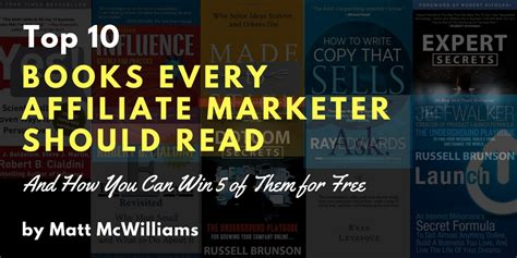 Top 10 Books Every Should Read by Top 10 Books Every Affiliate Marketer Should Read