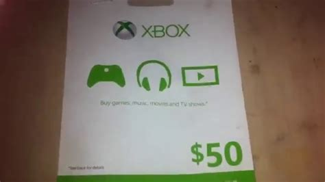 Xbox 50 Gift Card - xbox 50 gift card giveaway youtube