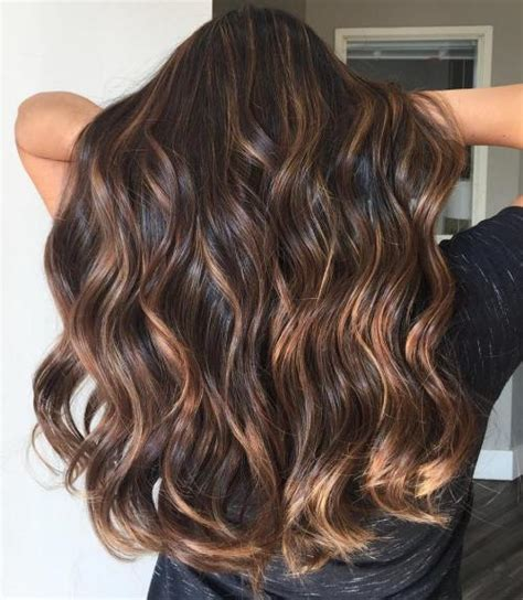 brown hightlights for long hair 2013 60 hairstyles featuring dark brown hair with highlights