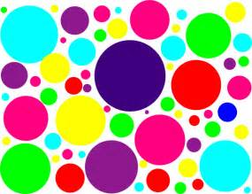 colored dots multi colored polka dots clip at clker vector