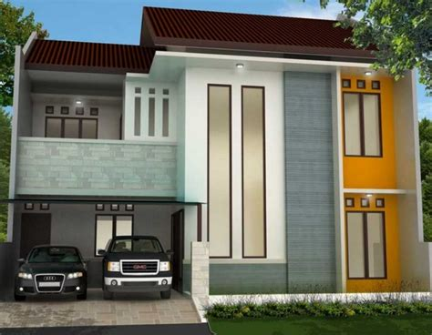 contoh warna cat depan rumah arsitek rumah minimalis gambar 20 contoh warna cat rumah minimalis tak depan