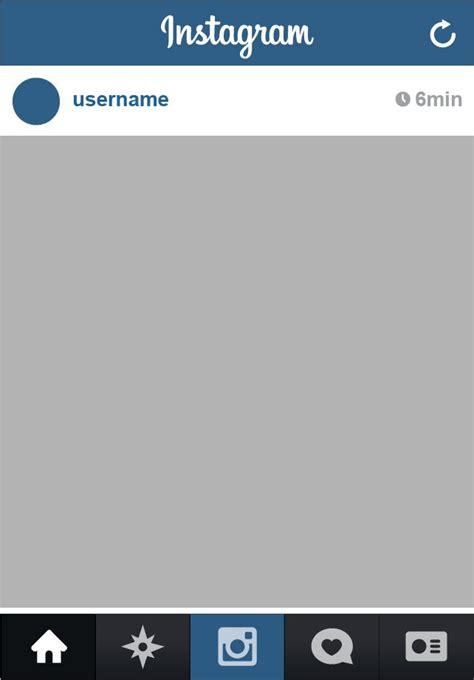 layout instagram descargar instagram app complete vector ui vectores 365psd com