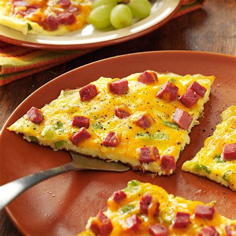 Pizza Beef Corn 2 corned beef omelet recipe taste of home