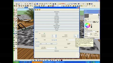 tutorial vray sketchup youtube v ray for sketchup caustics tutorial youtube