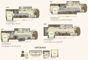Motorhome Floor Plans Class A by Gallery For Gt Class A Rv Floor Plans