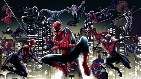 spider verse spider verse by jonathanpiccini jp on