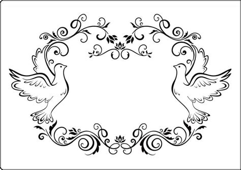 Home Design Free Gems cta409 dove frame a4 embossing folder by crafts too
