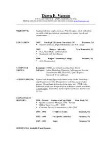 Objectives For A Resume Exles by Exles Of Objectives For A Resume Berathen