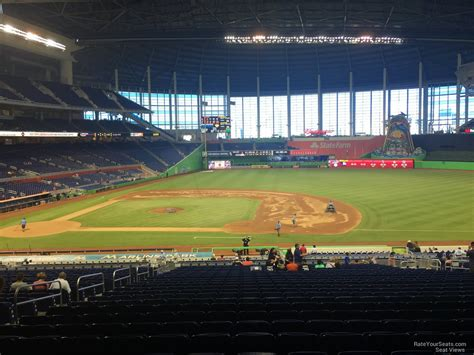 section 8 in miami marlins park section 8 miami marlins rateyourseats com