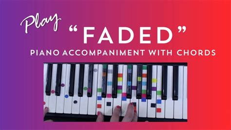 tutorial piano faded how to play sing faded alan walker easy piano chord