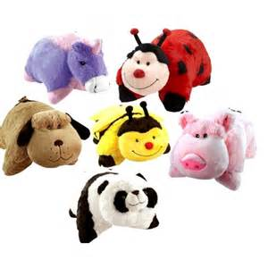 original genuine 18 quot pillow pets with velcro straps as