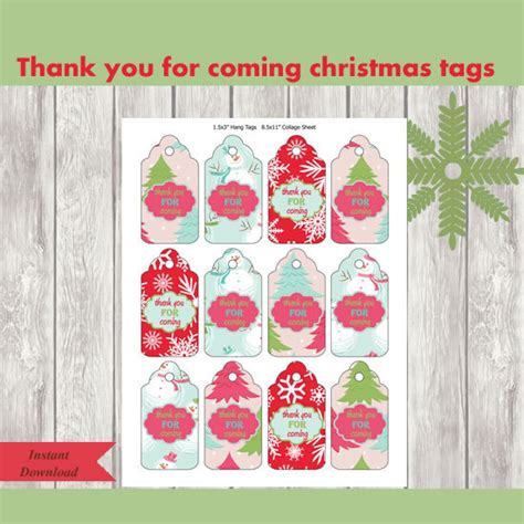 items similar to christmas decoration thank you for coming