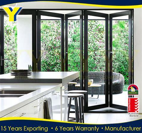 large folding glass doors outdoor folding door frameless folding glass doors