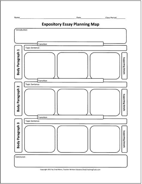 printable graphic organizer for expository writing these free graphic organizers include webs for preparing