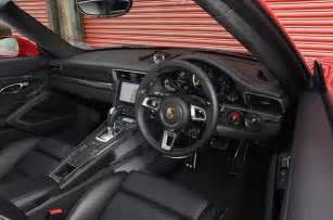 Porsche 911 Turbo S Interior 2016 Porsche 911 Turbo S Review Review Autocar