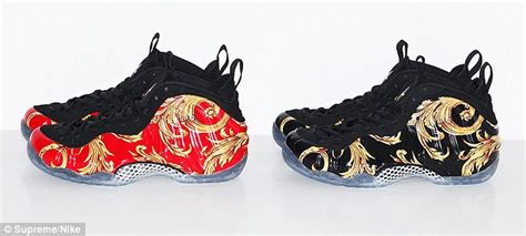 supreme clothing shoes supreme nike air formaposite launch shut by nypd