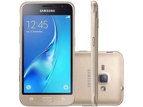 smartphone samsung galaxy j1 8gb dourado dual chip 3g c 226 m 5mp tela 4 5 quot proc