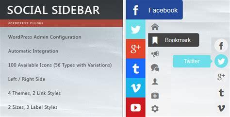 wordpress top bar plugin 20 best social media plugins for wordpress wpexplorer