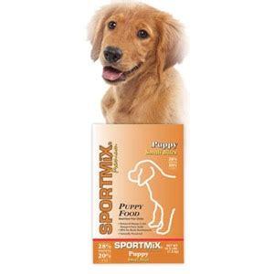 sportmix puppy food sportmix 174 puppy small bites puppy food r j feed supply