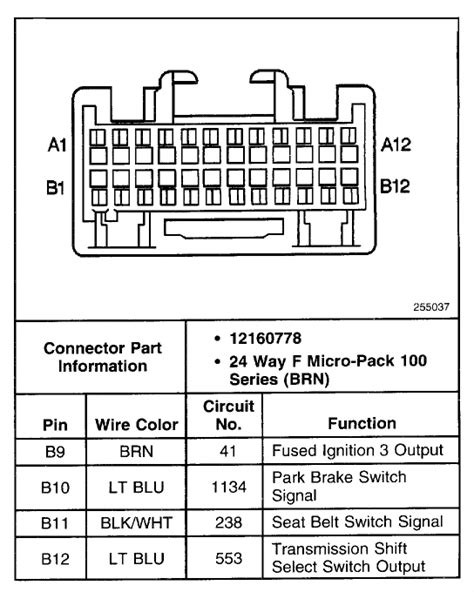 Does Anyone Have Wiring Diagram For Bcm On 99 Chevy Pick Up