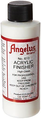 angelus brand acrylic leather paint high gloss finisher angelus brand acrylic leather paint high gloss finisher no