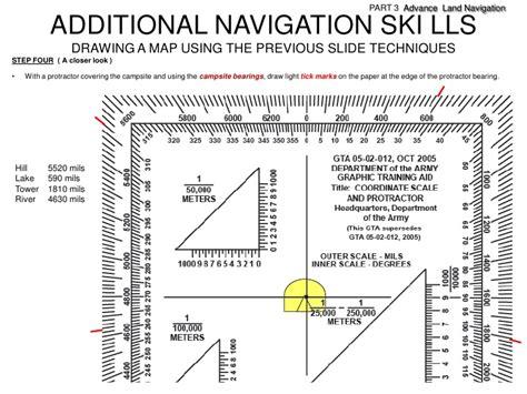 printable army protractor image gallery land navigation protractor
