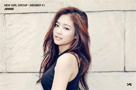 Blackpink Jennie   yge s new 4 member girl group blackpink teenage magazine