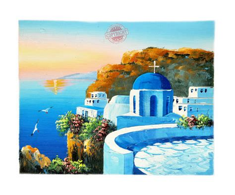 paint with a twist greece santorini 6 painting on canvas mediterranean santorini