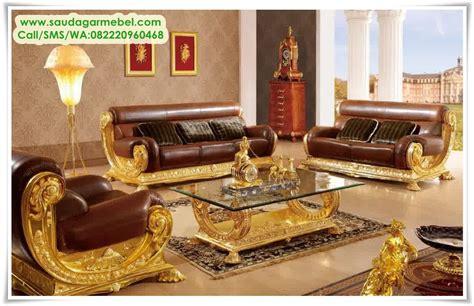 Kursi Ruang Tamu Mewah kursi sofa tamu jepara mewah saudagar mebel