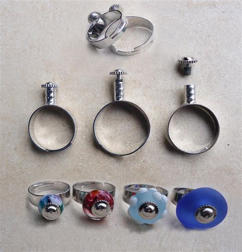 Bead Rings 003 add a bead ring for european charms adjustable from