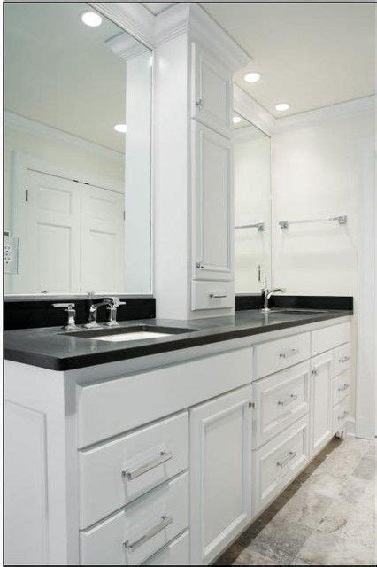 sink vanity with middle tower bathroom vanity with tower search bathrooms