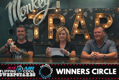 Cool Sweepstakes - and the flipping cool sweepstakes winner is