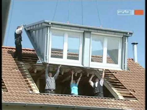 Jalousie Gaube by Dachgauben Einbau An Einem Tag Mit Sps Gauben