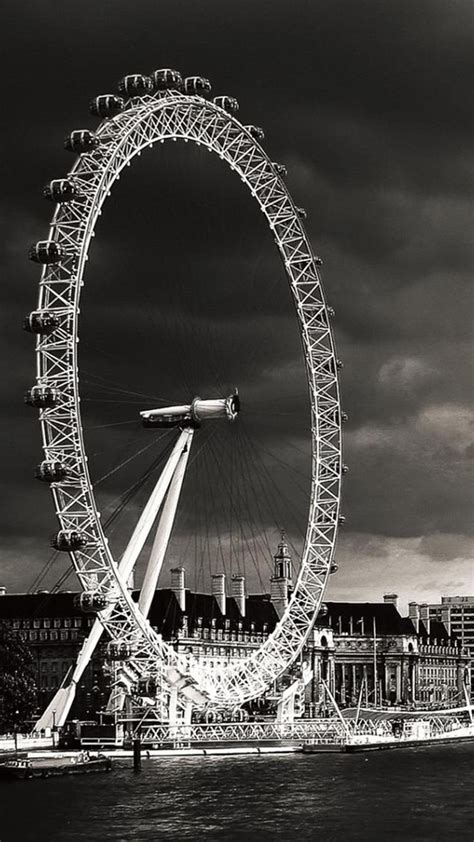 black and white london wallpaper for walls london eye black and white iphone 6 plus hd wallpaper