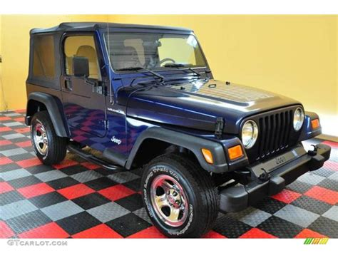 Jeep Wrangler Patriot Edition 2002 Patriot Blue Pearl Jeep Wrangler Apex Edition 4x4