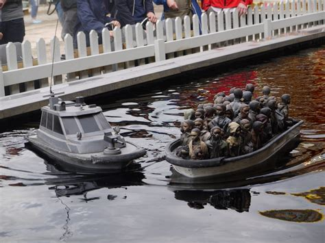 dismaland refugee boat letter from aberystwyth thirty years ago i came over the